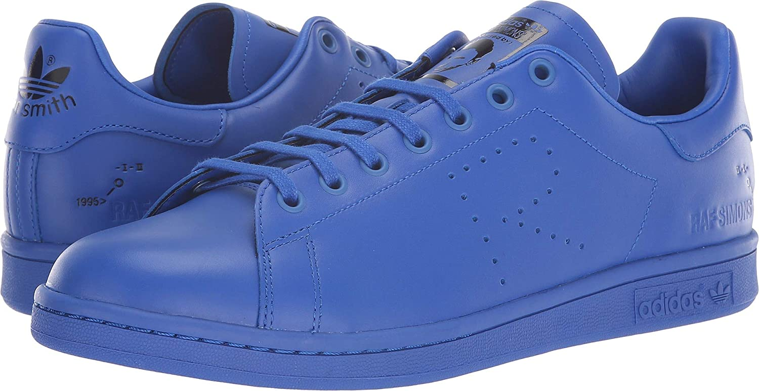 Power bluee Mystery Ink Footwear White Adidas Women's RAF Simons Stan Smith Sneakers