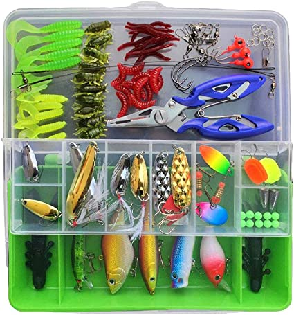 """100pc PANFISH ASSORTMENT 1/"""" to 2/"""" SOFT PLASTIC BAITS Crappie Fishing Lures Trout"""