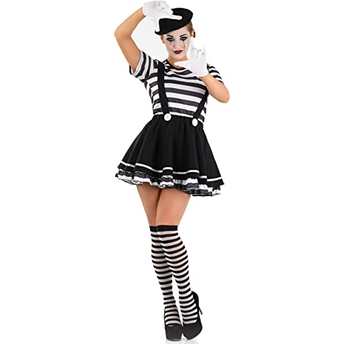 French Mime Costume Diy: Mime Fancy Dress: Amazon.co.uk