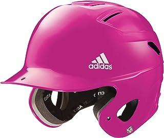 adidas Fille Triple à Rayures T-Ball Casque de Cricket, (Rose, débutant)