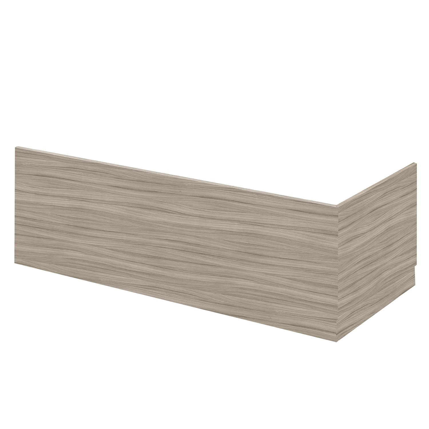 Hudson Reed OFF277 Front Plinth Bath Panels, Driftwood, 1700mm