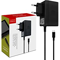 Nintendo Switch AC Adapter, Adattatore CA per Nintendo Switch, caricatore da viaggio per tipo C per Nintendo Switch, compatibile con Switch Dock Station, modalità TV supportata