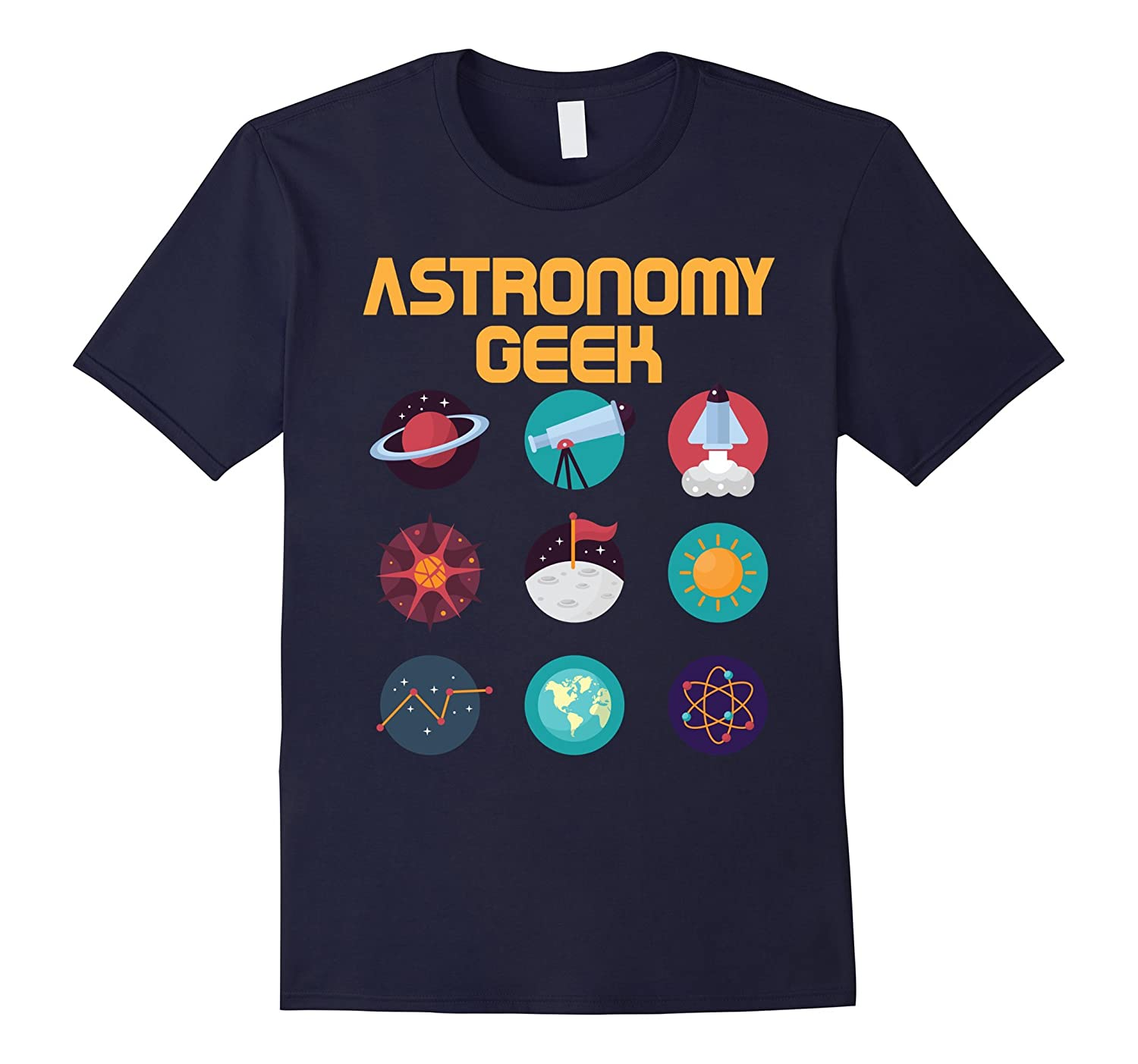 Astronomy T Shirt Astronomy Geek Funny Astronomers Gift Tee-ANZ