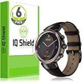 IQ Shield Screen Protector Compatible with Asus ZenWatch 3 (6-Pack) LiquidSkin Anti-Bubble Clear Film