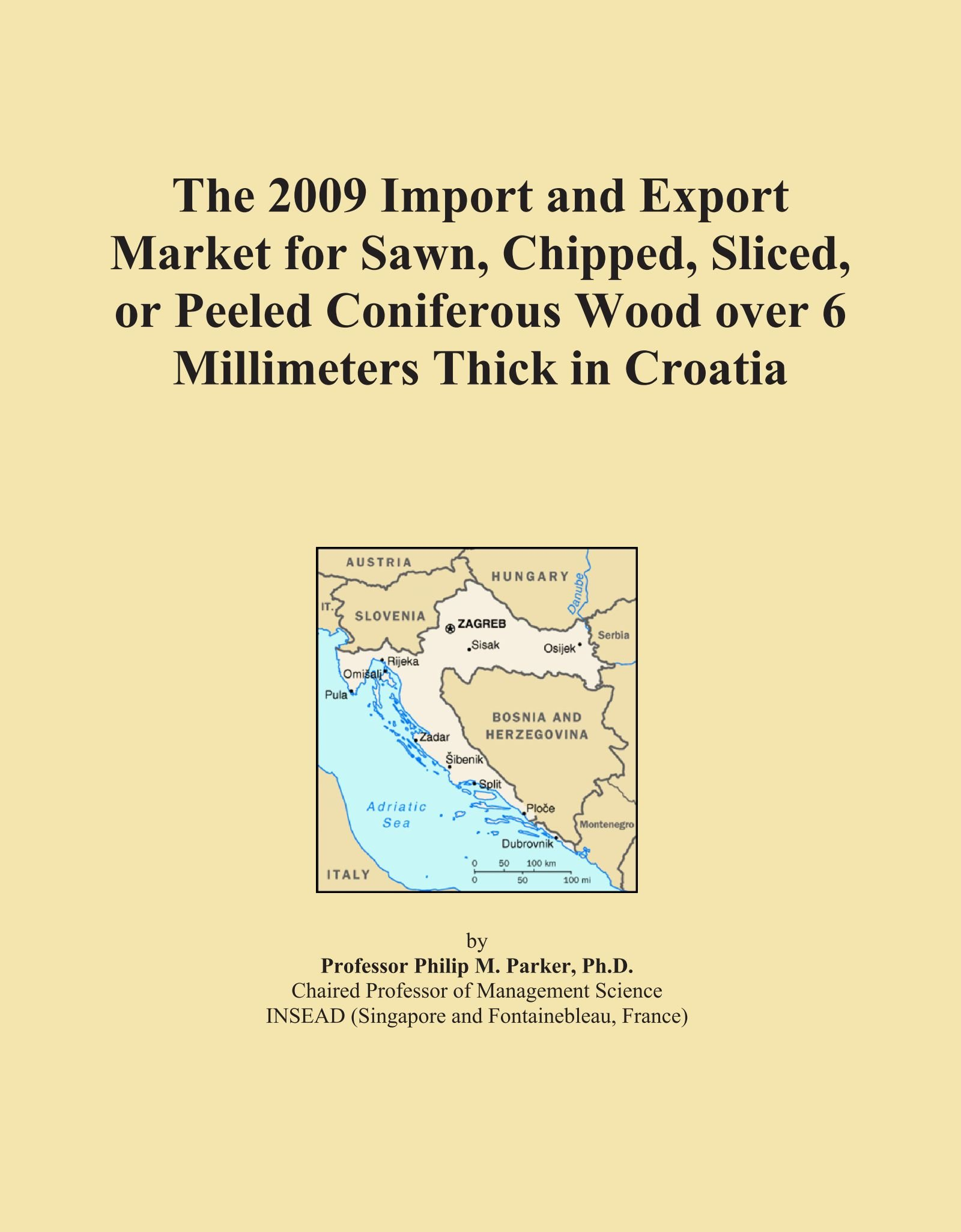 Download The 2009 Import and Export Market for Sawn, Chipped, Sliced, or Peeled Coniferous Wood over 6 Millimeters Thick in Croatia PDF