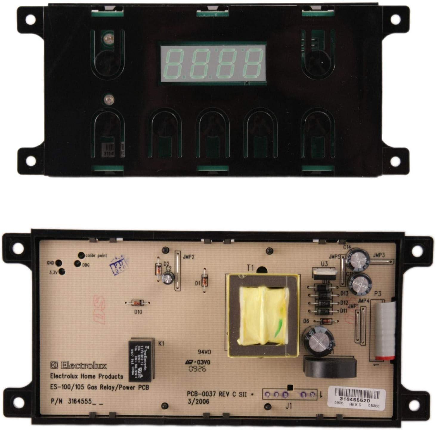 316455410 Oven Control Board Fits Frigidaire Gas Range 316455430
