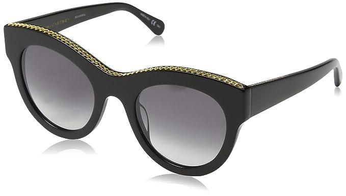scarpe casual vendita economica nuovi speciali Stella McCartney SC0018S 001 Occhiali da Sole, Nero (001-Black ...