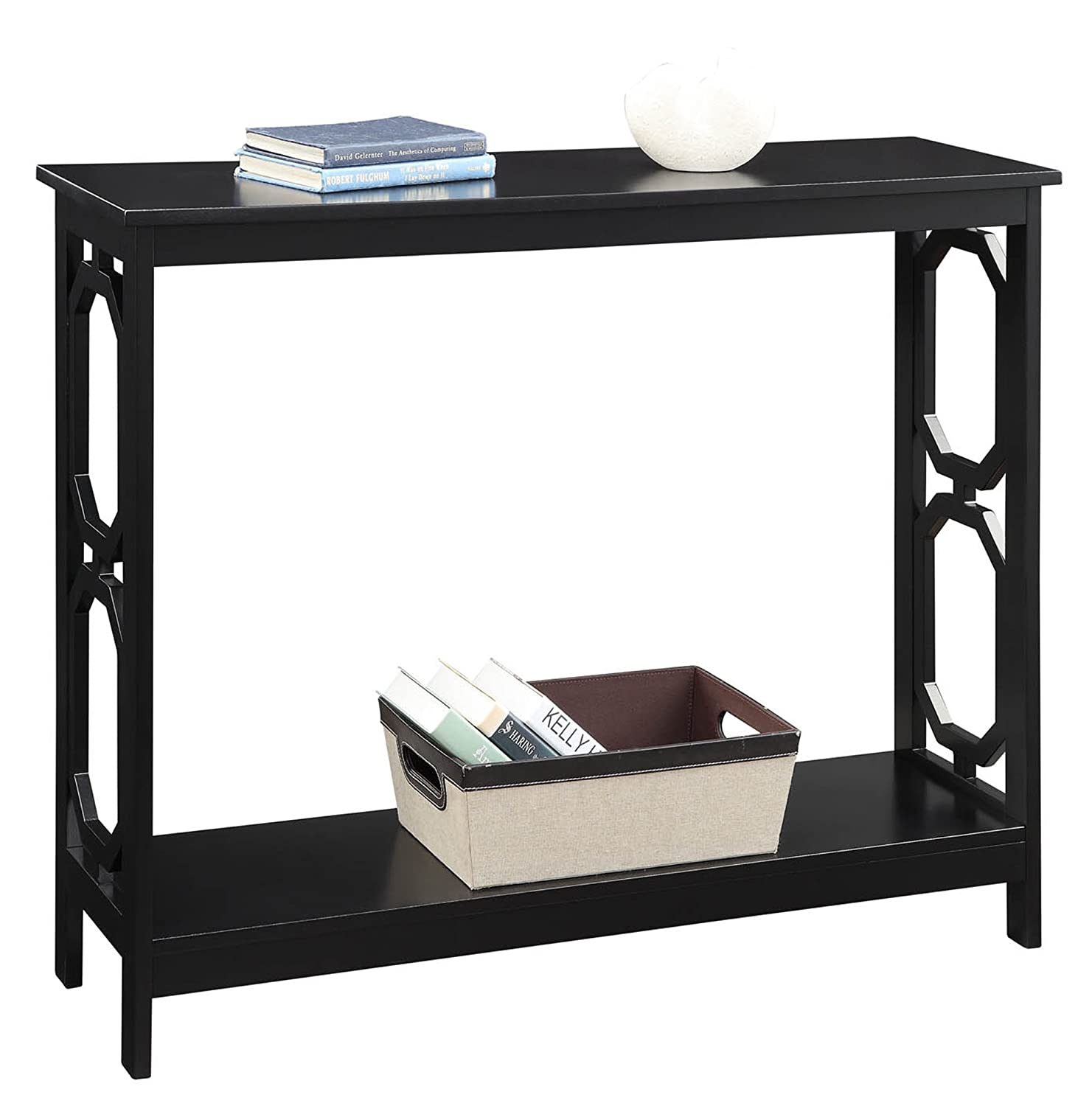 Convenience Concepts Omega Console Table, Black
