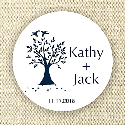 Wedding stickers personalized labels bridal shower labels wedding favor labels