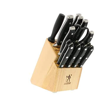 J.A. HENCKELS INTERNATIONAL Forged Premio 17-Piece Block Knife Set