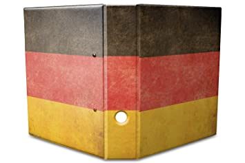 Leotie GmbH Archivador A4 Carpeta 2 Anillas 60mm Impreso Alemania: Amazon.es: Hogar