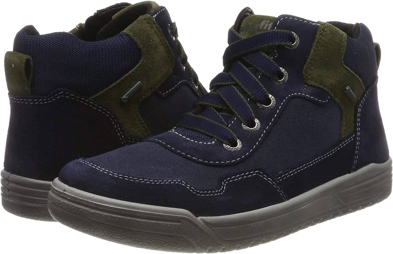 Superfit Jungen Earth-509058 Hohe Sneaker
