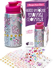 Decorate & Personalize Your Own Water Bottles for Girls with Tons of Rhinestone Glitter Gem Stickers! Reusable, BPA Free 20