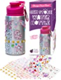 Purple Ladybug Decorate Your Own Water Bottle for Girls with Tons of Rhinestone Glitter Gem Stickers! BPA Free, Kids…