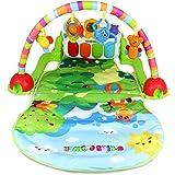 Toyshine Jungle Friends Musical Rainbow Baby Gym Activity Toy Mat