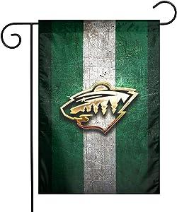 Lilian Ralap Min Mi-Nn-ES-Ot-A Wild Garden Flag,Home Rustic Garden Yard Decorations,Seasonal Outdoor Flag 12 X 18inches