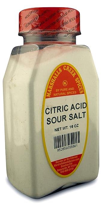 Amazon com : Citric Acid Sour Salt : Flavored Salt : Grocery