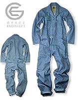 GRACE ENGINEERS グレースエンジニアーズ GE-105 長袖ツナギ19ヒッコリーL