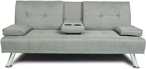 NOUVCOO 2020 Quality Upgrade Sofa Modern Linen Upholsted