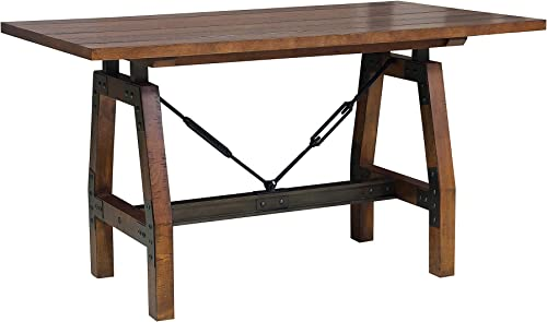 Homelegance Beechnut Counter Height Table, Brown