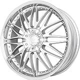 """Verde Custom Wheels Regency Silver Wheel with Machined Lip (17x7.5""""/5x115 mm)"""