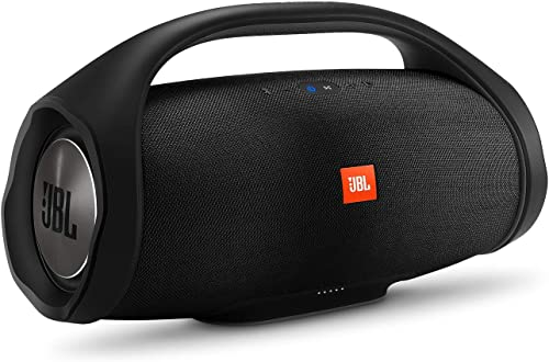 JBL Boombox, Waterproof Portable Bluetooth Speaker with 24 hours of Playtime – Black