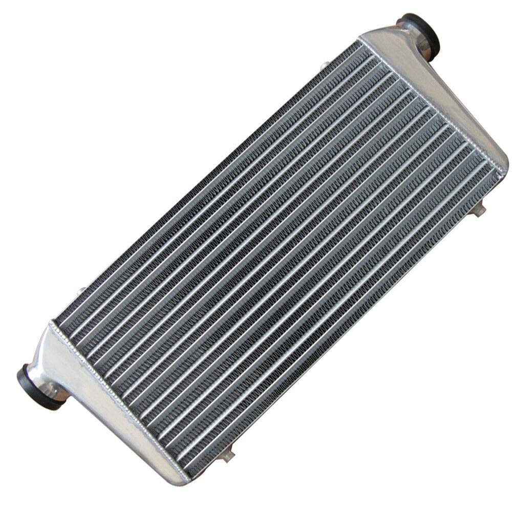 BoTaiDaHong Universal Intercooler Aluminum 31 X 12X3 I//O Inlet//Outlet Professional for H-o-n-d-a Acura M-us-ta-ng Es-cort Su-pra Ce-lica YCZ026A-012A