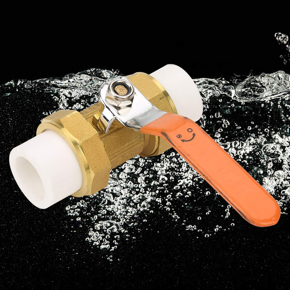 Tube Ball Valve Practical Durable Pipe Ball Valve Easy Installation Easy Operation for Pipe Fittings Tube Fittings