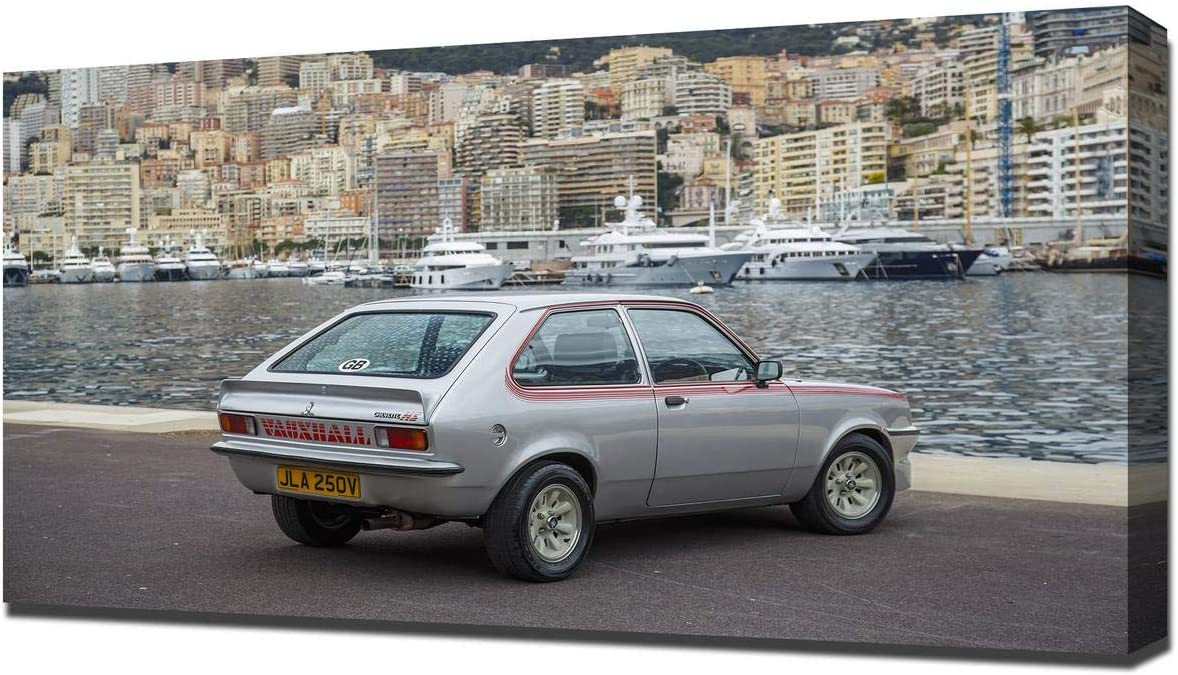 1979 vauxhall chevette hs v2 canvas art print wall art canvas wrap amazon co uk kitchen home 1979 vauxhall chevette hs v2 canvas