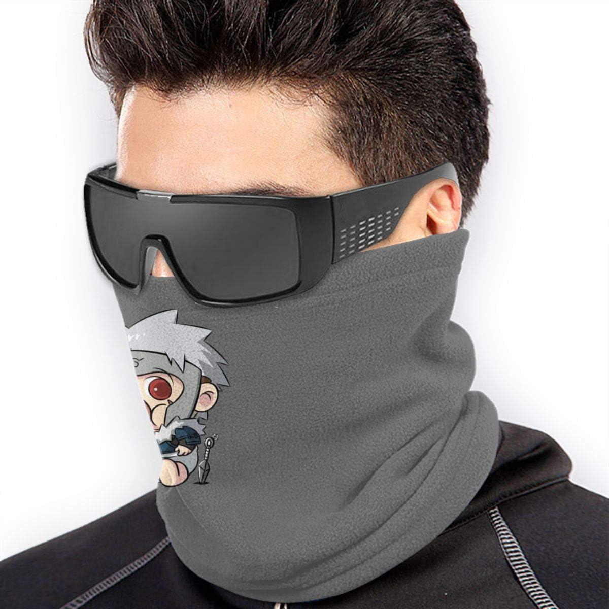 Unisex Seamless Face Mask Cartoon Shikamaru Outside Face Cover Washable Bandana for Snowboarding