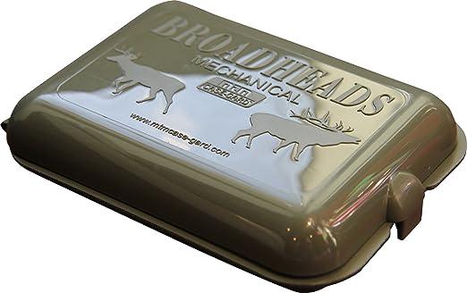 MTM Broadhead Storage Box Clear  BH16  Holds 16 Broadheads    FREE SHIP!