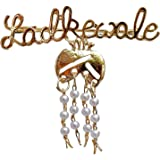 Axlon Ladkewale Gold Plated Brouch/Brooch Pin Pack for Men & Women
