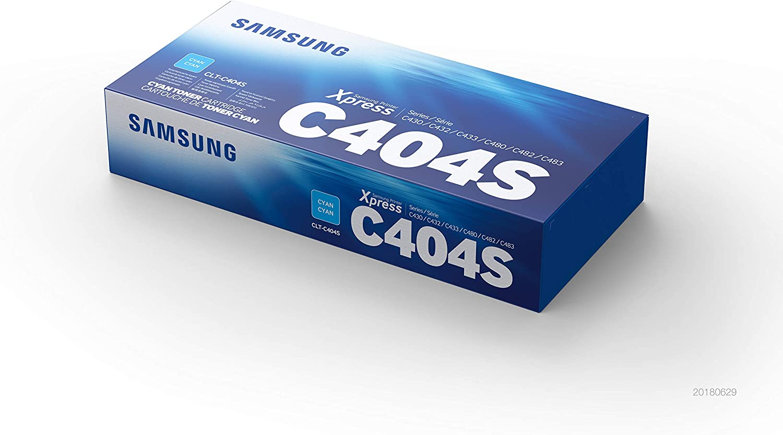 Samsung Clt C404s Cyan Original Toner Bürobedarf Schreibwaren