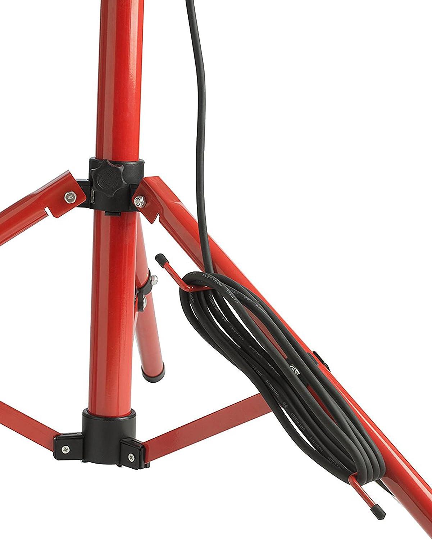 LUCECO LSWT212BR3-E2 - Proyector led slim doble con tripode 2x1200lm 15w, n/r 3m cable + schuko: Amazon.es: Bricolaje y herramientas