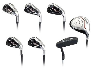 Spalding SP99 - Juego completo de palos de golf (bate, 1 ...