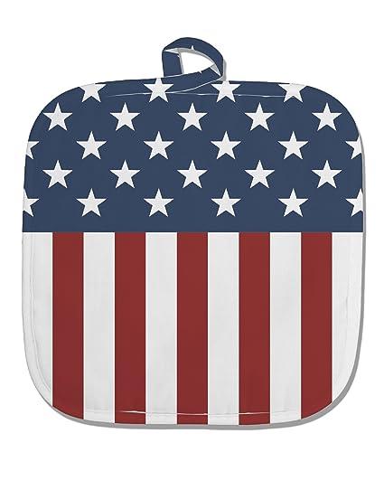Amazon com: TooLoud Stars and Stripes American Flag White
