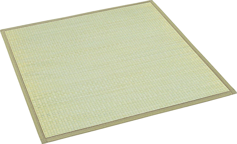 大島屋 ユニット畳 椿 い草 ふんわり フロアー畳 約82×164×1.5cm B01GF8W8RI  約82×164×1.5cm