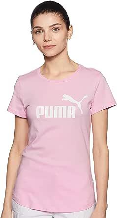 PUMA ESS Logo tee Camiseta Mujer