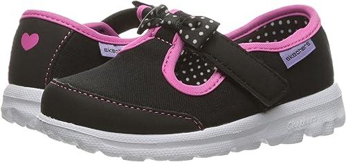 Skechers Kids Go Walk Bitty Bow Sneaker