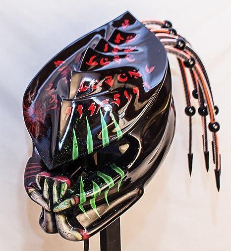 Amazon.com: Predator casco 3d dientes Columna Vertebral ...