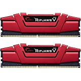 G.SKILL Ripjaws V Series 32GB (2 x 16GB) 288-Pin DDR4 SDRAM 2133 (PC4 17000) Z170/X99 Desktop Memory F4-2133C15D-32GVR