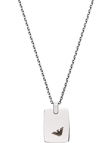 33b0e027d2a Emporio Armani Men's Silver Chain Necklace EGS2471040
