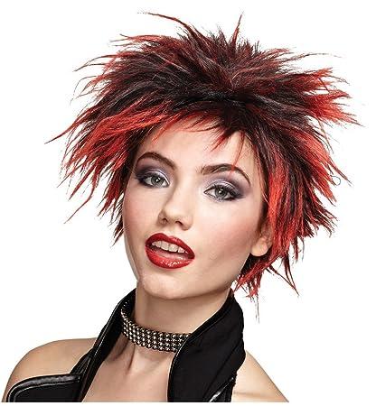 Sexy Short Adult Punk Goth Wig