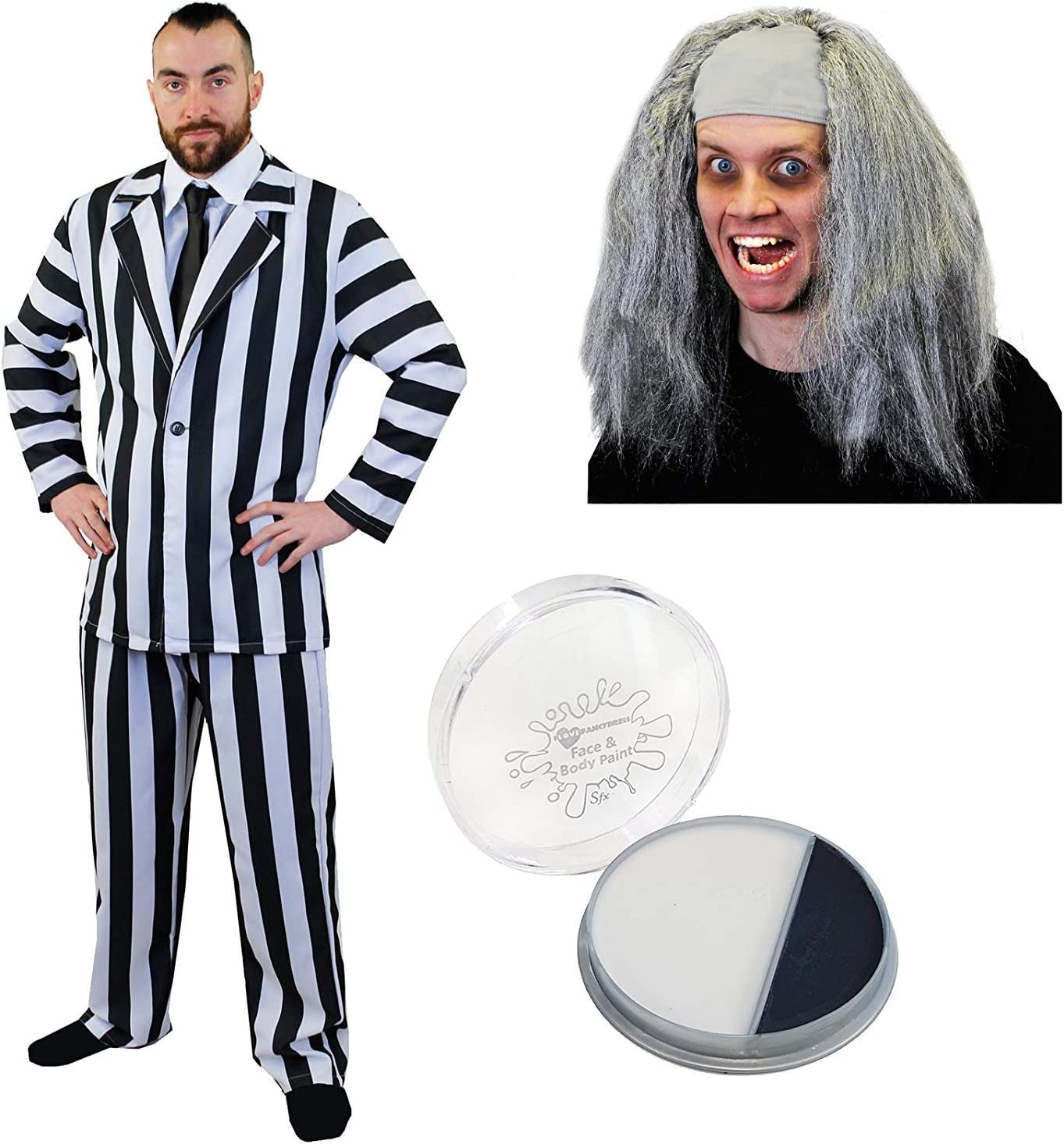 Striped Costume Shirt