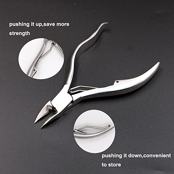 Amazon.com: FULARR Professional Toenail Nippers Set, Toenail Cutter and Nail Nipper, Stainless Steel Toenail Grooming Tool, for Thick or Ingrown Toenails ...