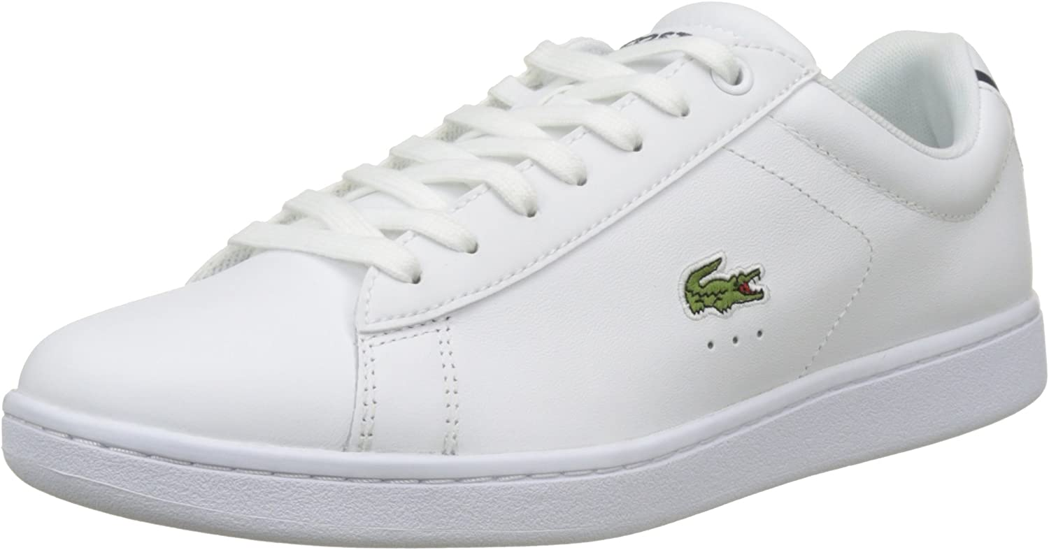 Lacoste Carnaby EVO BL 1 SPM black Leather Trainers **B-grades**Real pic!!!