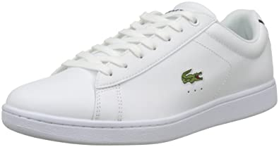 49a6747e1 Lacoste Men s Carnaby Evo BL 1 SPM Leather Trainers