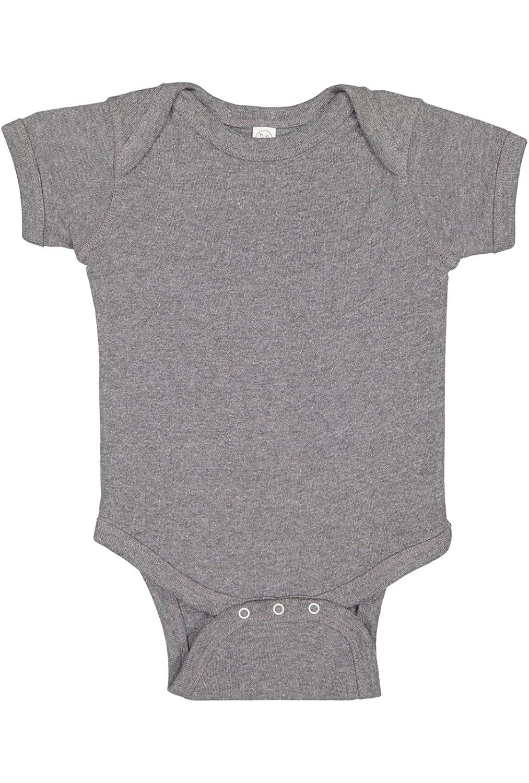 Baby Rib Lap Shoulder Bodysuit Rabbit Skins Infants5 oz