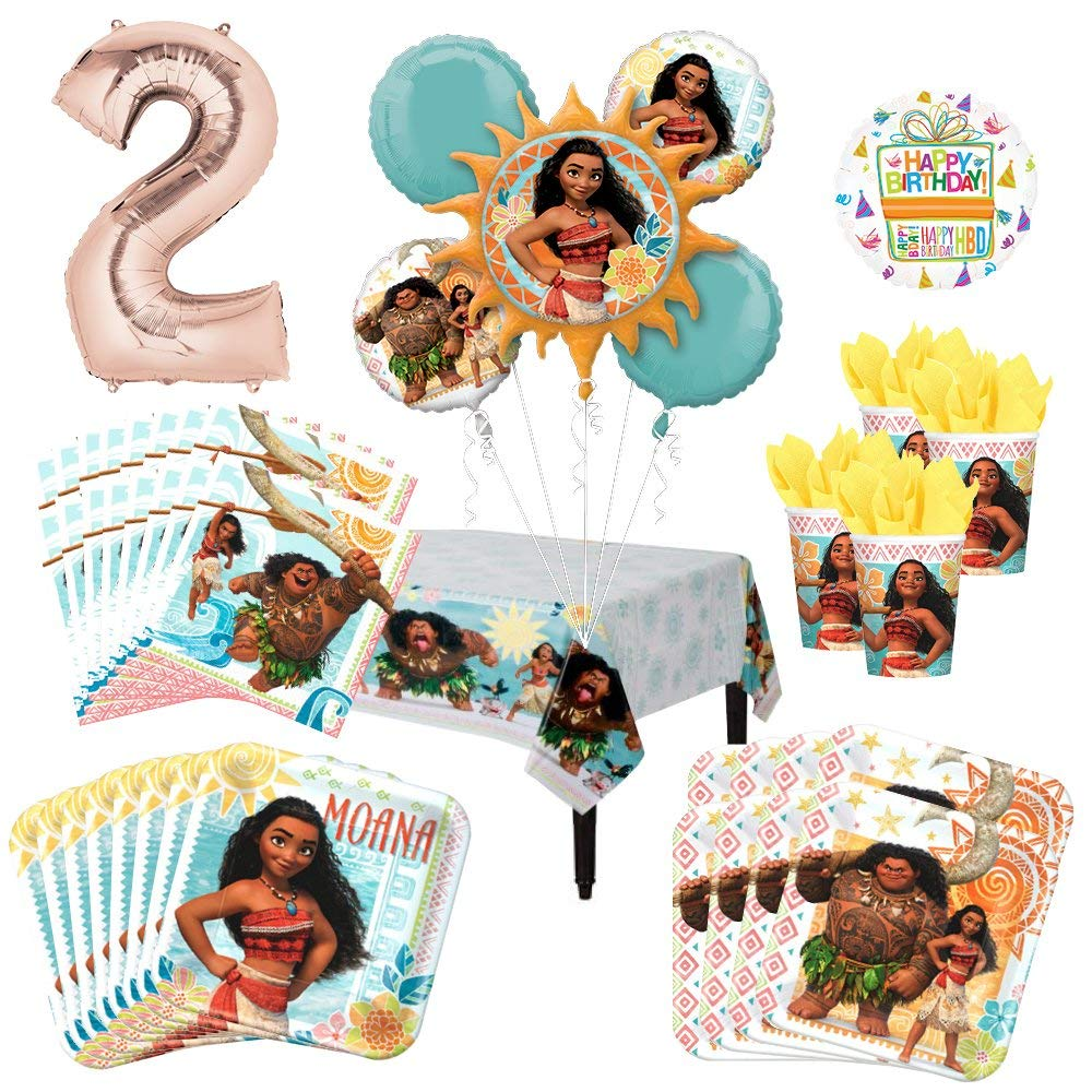 Moana Party Bundles for 8 Guests
