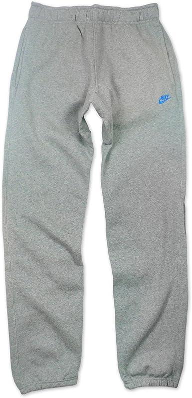 Nike 416930 – Pantalones de Deporte para Hombre, Gris Dunkelgrau/Blau 46: Amazon.es: Ropa y accesorios
